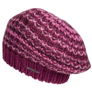 prAna Justina Beanie, color Plum Red